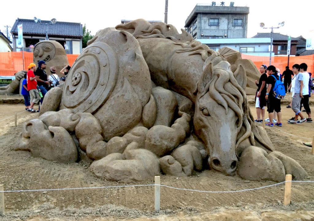 As extraordinárias esculturas de areia de Toshihiko Hosaka 23