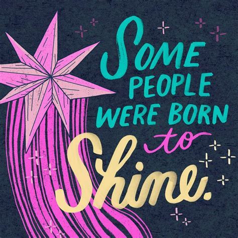 Born to Shine Musical Birthday Card   Greeting Cards