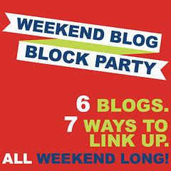 weekend blog block party