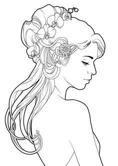 drawing  cute girls images beautiful drawings