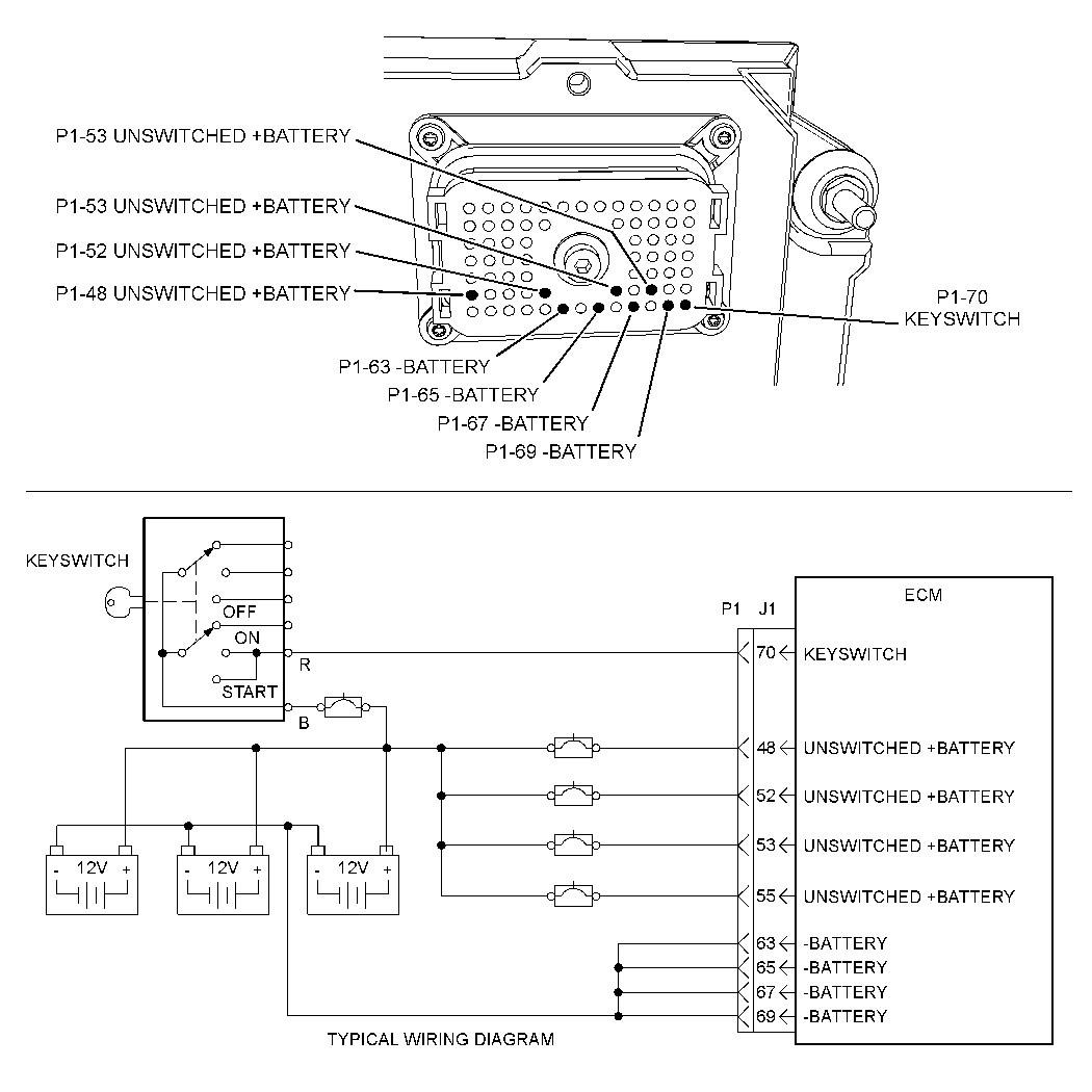 34 Cat C12 Serpentine Belt Diagram