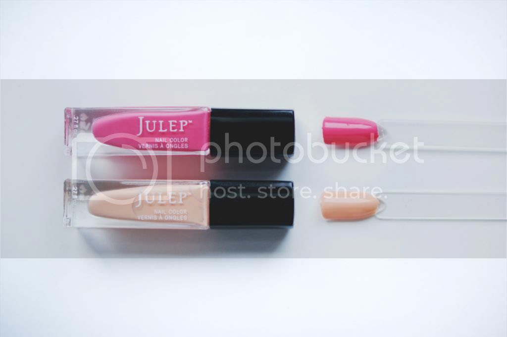 Julep Maven July 2014 Box Swatches