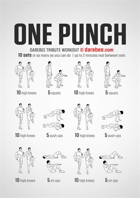 Just For Women | One punch man workout, Superhero workout