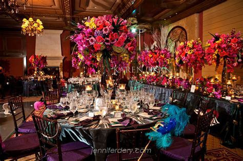 Exquisite masquerade and Peacock wedding at the Grand Del