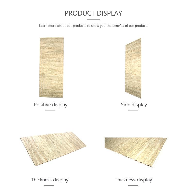 Travertine Marble Pvc Plastic Designer Wall Panels ...