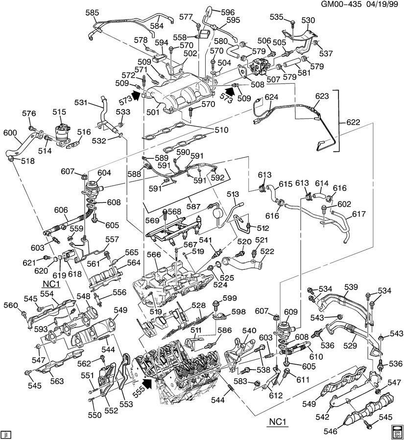 Diagram Of 3 4l V6 Engine - Wiring Diagram