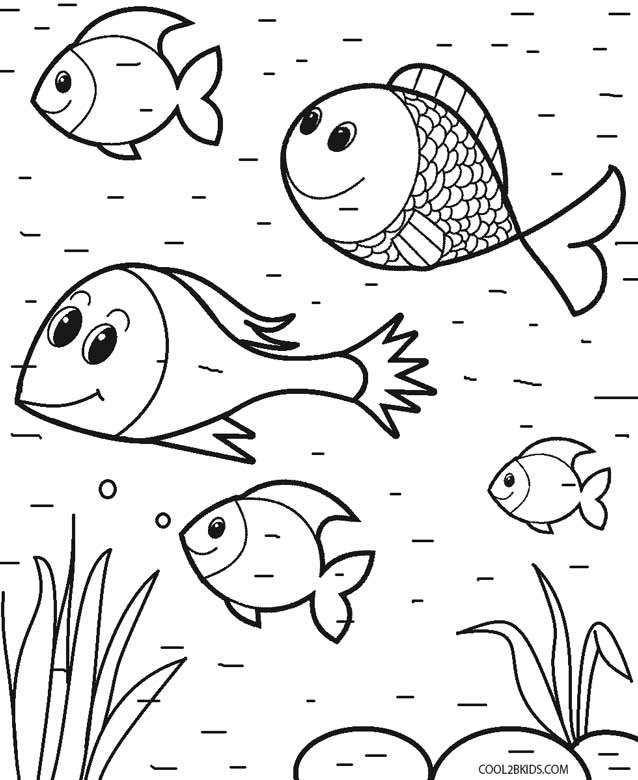 Printable Toddler Coloring Pages For Kids | Cool2bKids