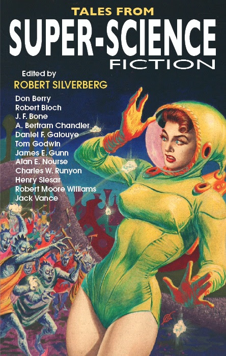 Cover for                                                           TALES OF SUPER                                                           SCIENCE                                                           FICTION