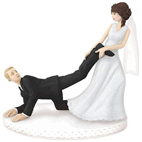 Bride Groom Cake TopperBride and Groom figurine is 4