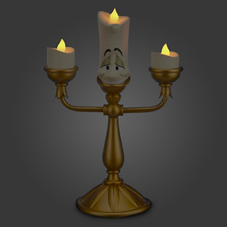 Disney LightUp Figure  Beauty and The Beast  Lumiere Candlestick
