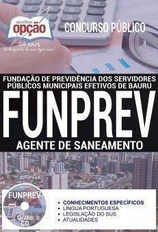 Apostila Concurso FUNPREV 2017 | AGENTE DE SANEAMENTO