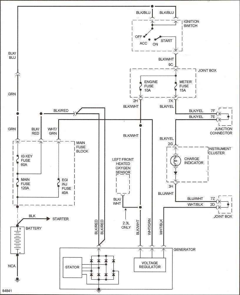 Diagram Ford Probe Alternator Wiring Diagram Full Version Hd Quality Wiring Diagram Payoffdiagram Artisan Marescot Fr