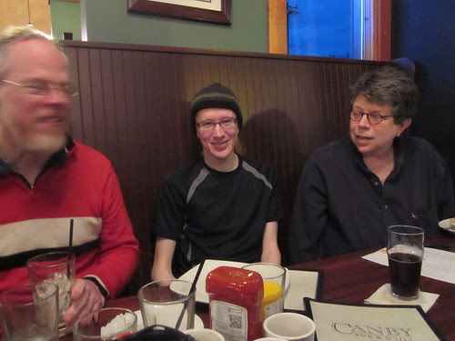 David, Rob and Michael R