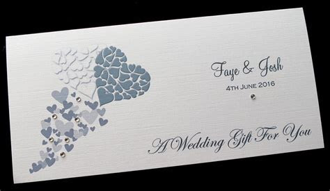 Personalised Wedding Day Money/Voucher/Gift Card/Wallet
