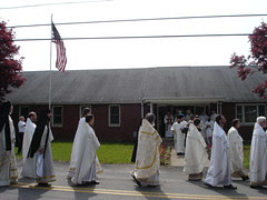 Procession to the church