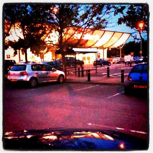 Shopping in Sainsburys Gloucester
