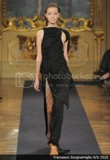 Fashion Trends 2010 Hip Slit Dresses