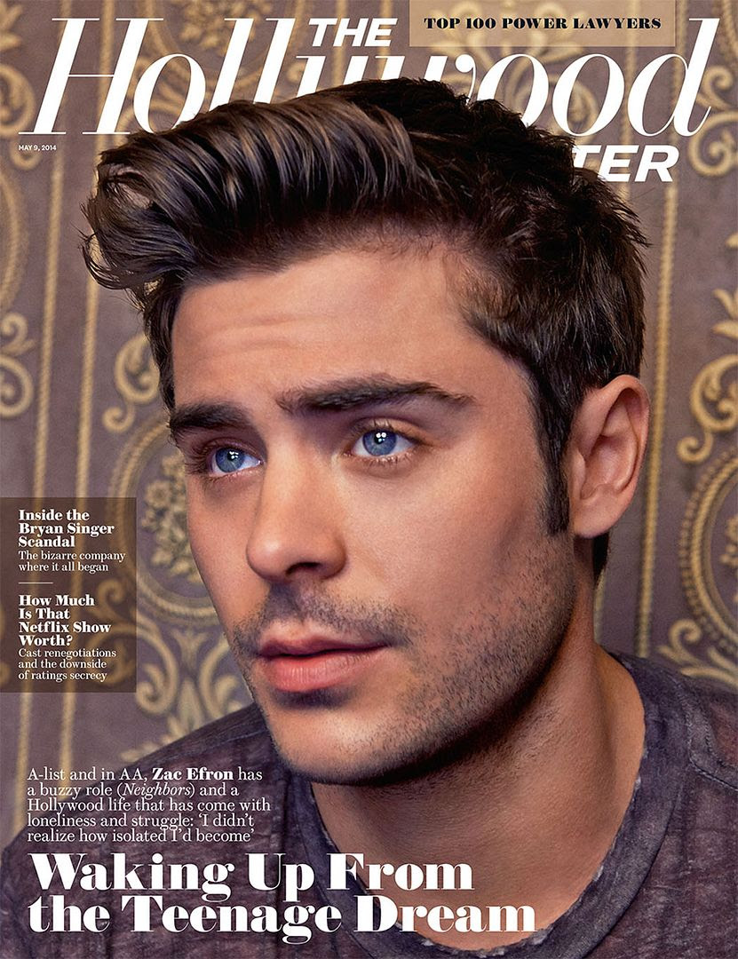 Zac Efron :  The Hollywood Reporter (May 9, 2014) photo Zac-Efron-For-The-Hollywood-Reporter-May-2014-Issue-FAB-Magazine-1.jpg