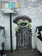 Blam - Oscar the Grouch, an old fave: London g...