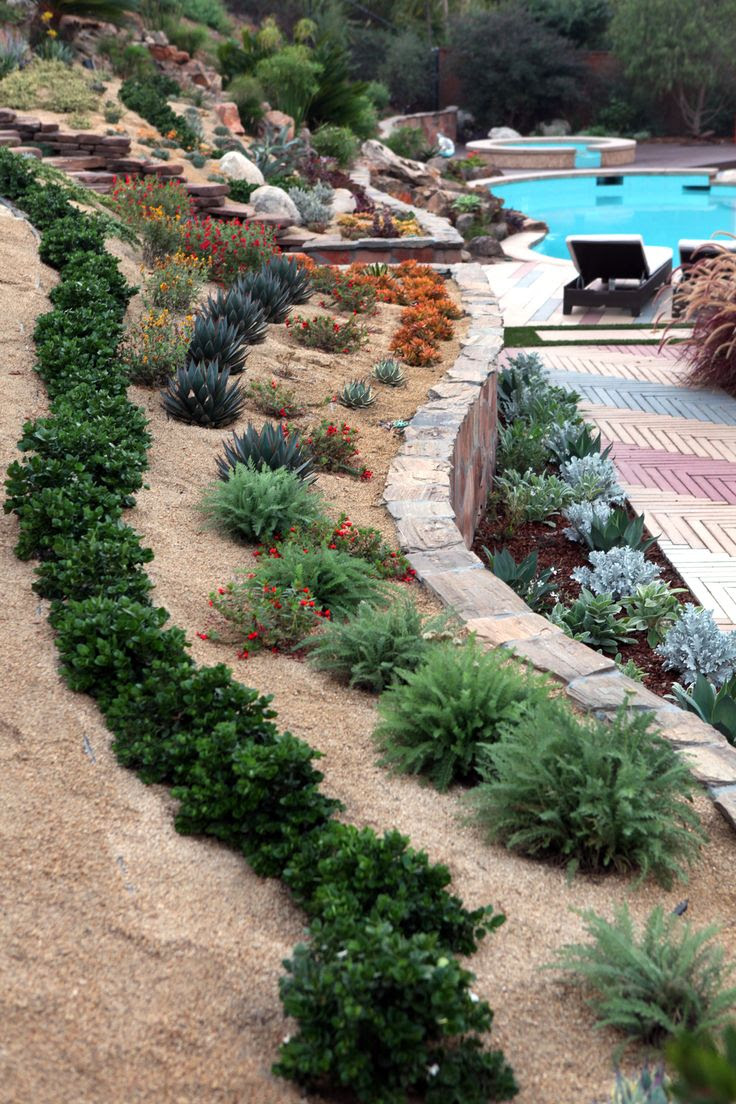 18  modern hillside landscaping ideas pictures