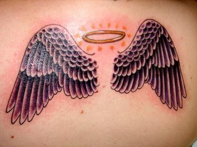 Goods Brief Small Angel Wings Tattoos