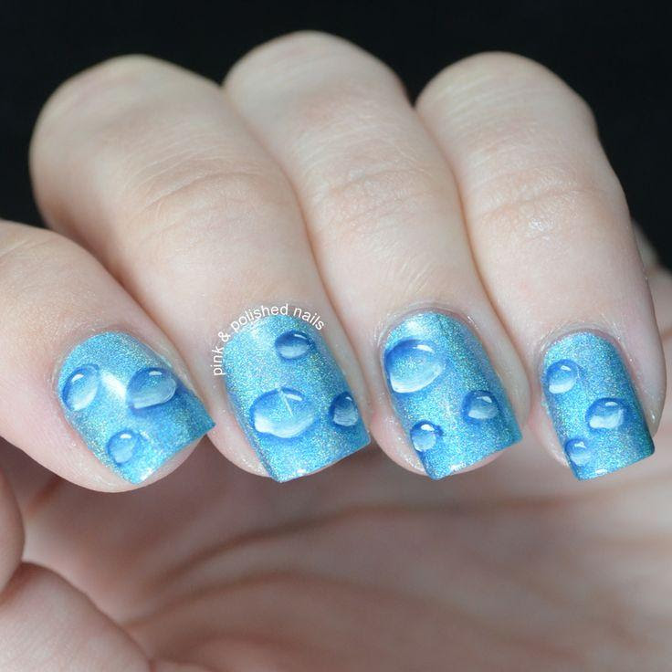 Water Marble Nail Art And Water Marble Nail Art Ideas Water Nail Art