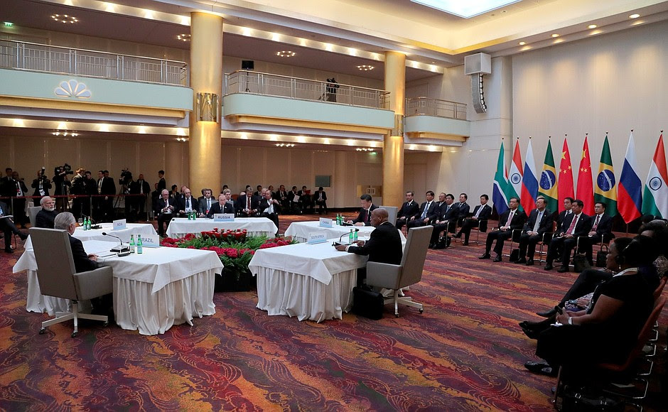 Informal meeting ofBRICS heads ofstate andgovernment.