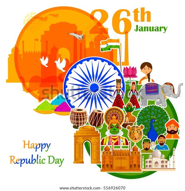 Republic Day Images Wishing App- 2020