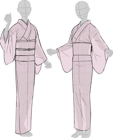 kimono drawing guide  kaoruko maya tumblr