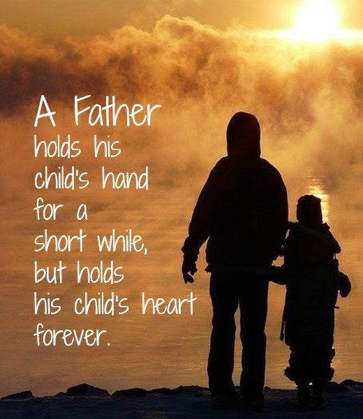 A Father Holds His Childs Hand For A Short While Pictures ...