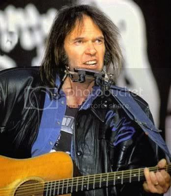 Neil Young, yesterday