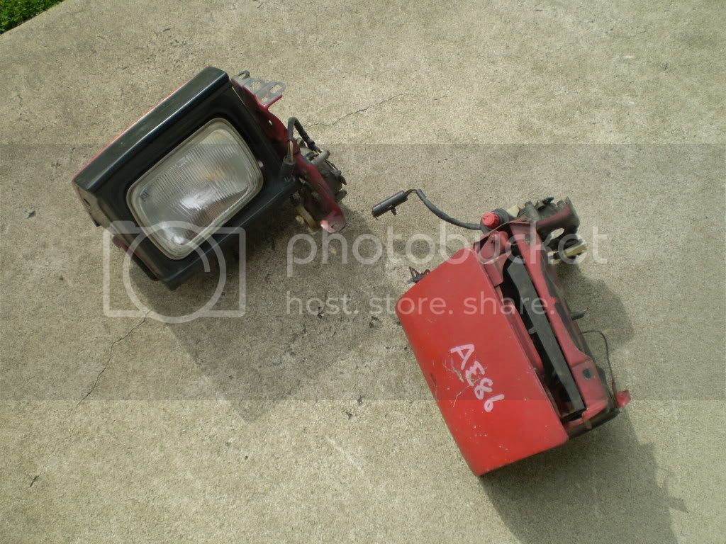ae86 headlights