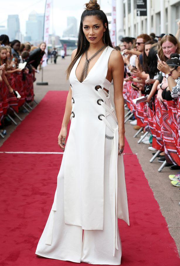 Nicole Scherzinger attends the X Factor Auditions