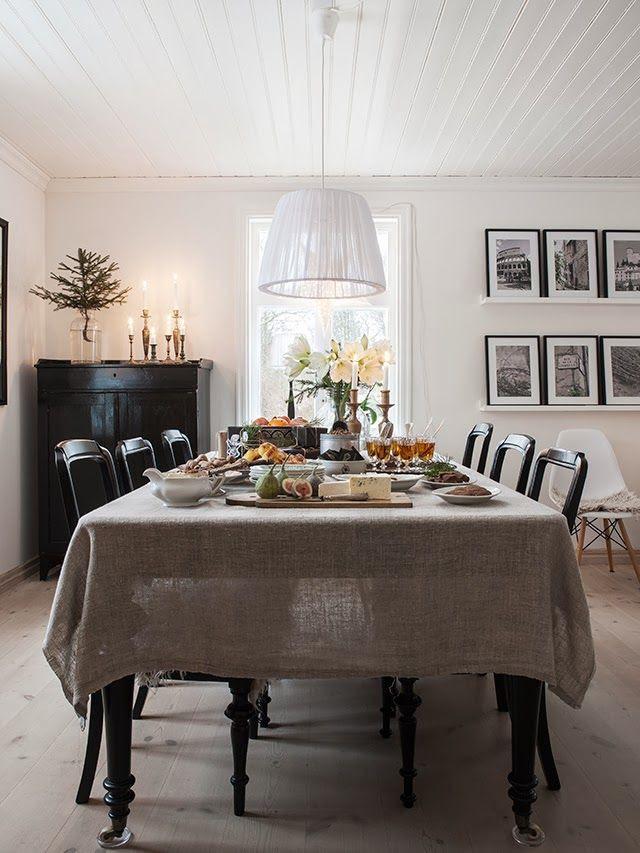 FleaingFrance Brocante Society Table set for a feast