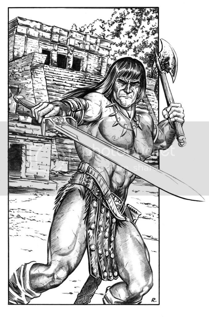 Graeme Neil Reid,Illustration,Conan