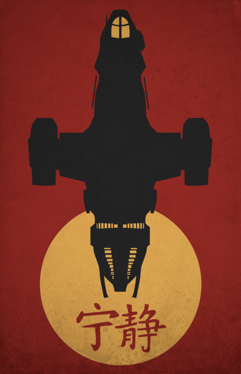 Firefly Poster by Kodi Sherson