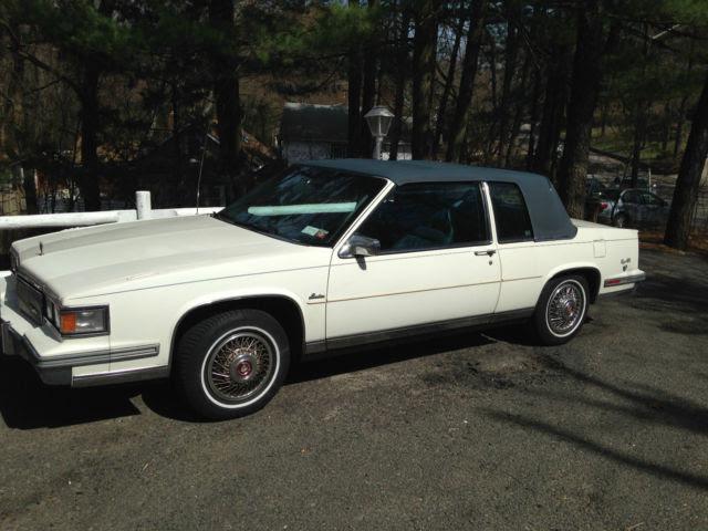 1986 Cadillac DeVille d'Elegance Coupe 2-Door 4.1L for ...