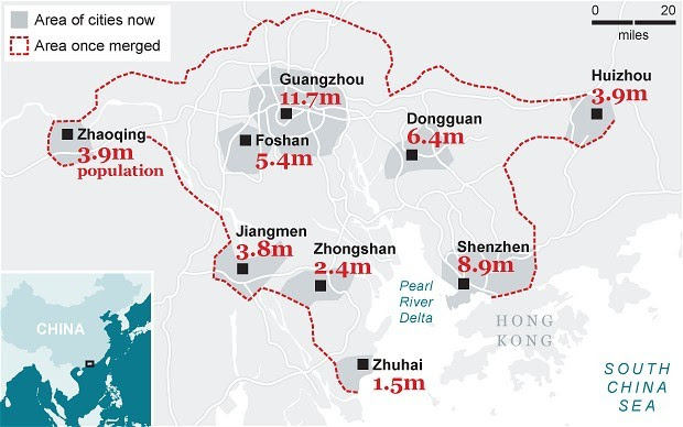 china megacity 2017