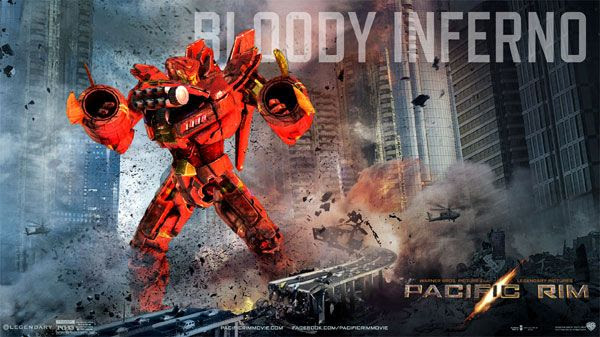 My own PACIFIC RIM Jaeger...known as the Bloody Inferno.