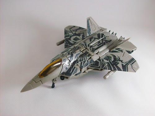 Transformers Starscream RotF Voyager - modo alterno