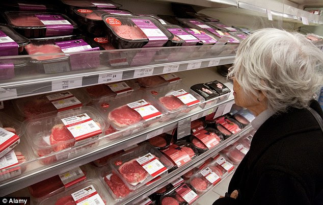 Burgers, sausages and pies were particularly singled out as being harmful