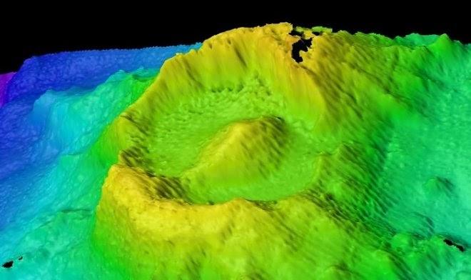 В Индийском океане нашли гигантское «Око Саурона»