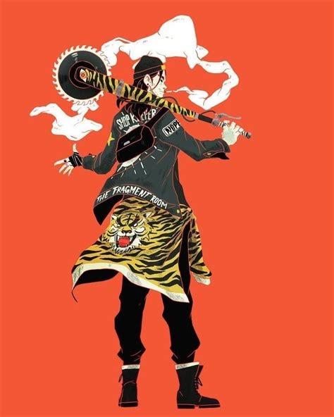 Drawing Jianghu Anime - Creative Art