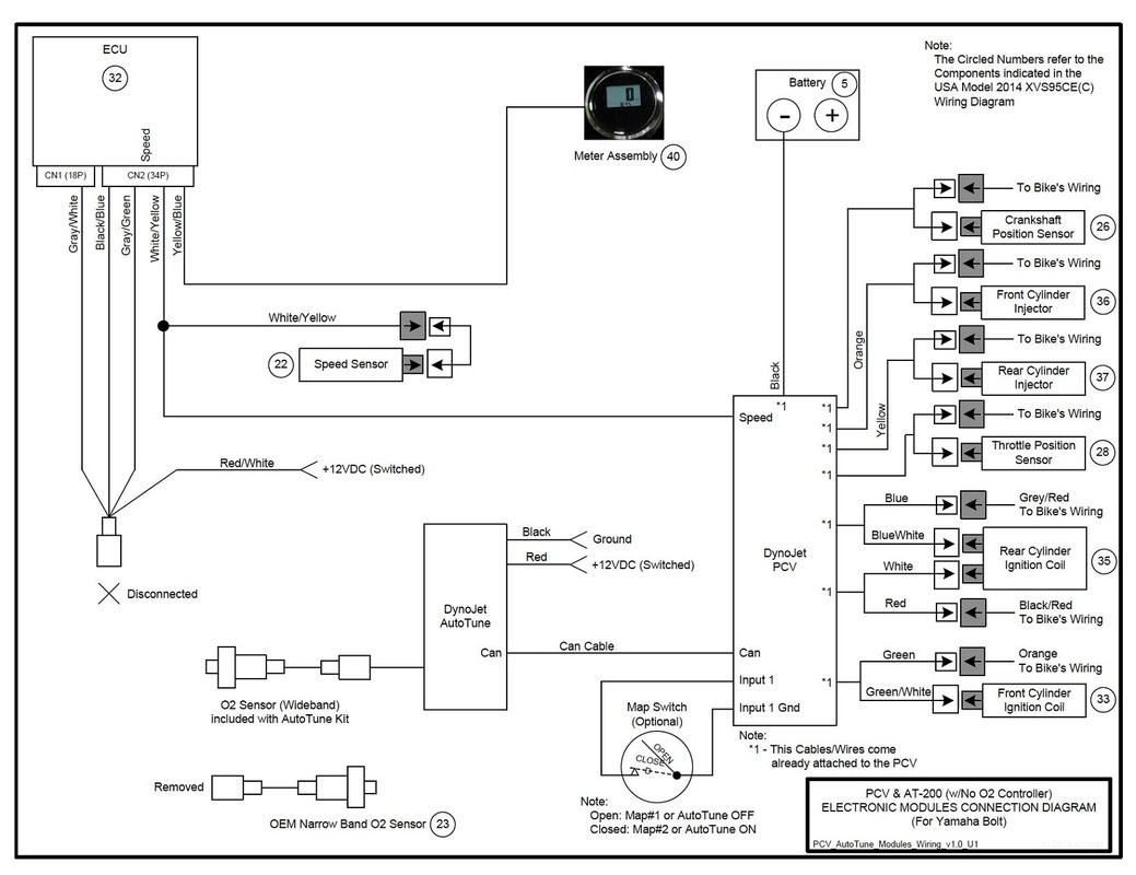 Power Commander 3 Wiring Diagram