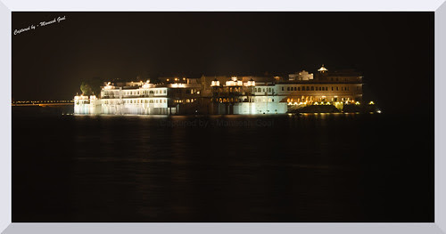 Lake Palace - now a luxury hotel run by the Taj Group - located in Lake Pichola, Udaipur