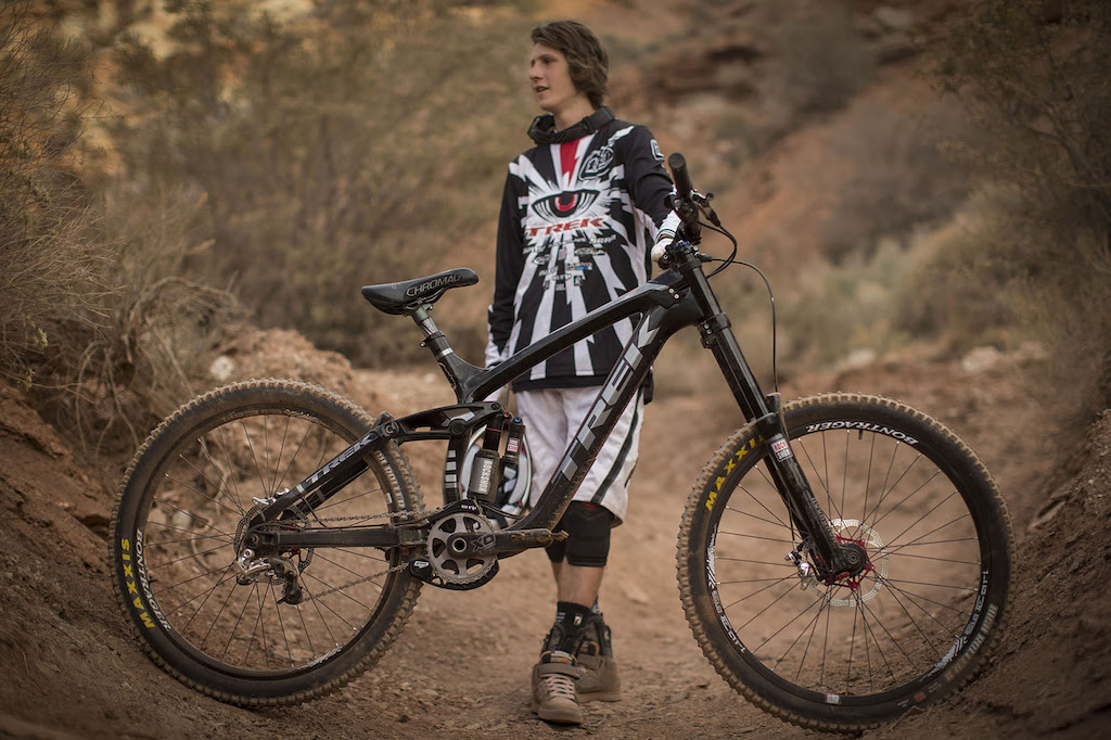 Brandon Semenuk at Redbull Rampage 2012