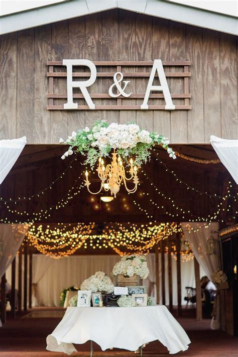 Elegant Florida Country Barn Wedding   Rustic Wedding Chic