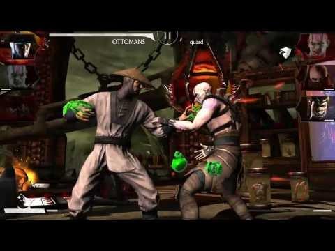 Mortal Kombat X Gelişmiş Bir Hesap İleri Seviye Dövüşler