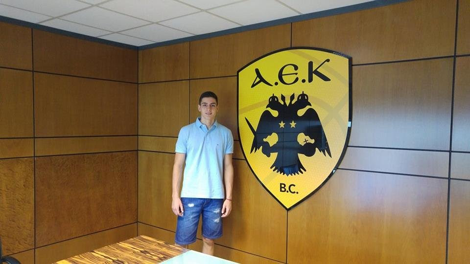 Από τον Ηρακλή Φιλιατών στην ΑΕΚ o 17χρονος Μηνάς Στεργίου