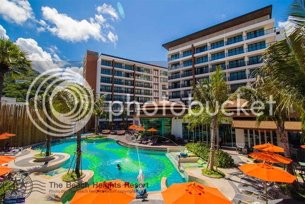 The Beach Heights Resort at Kata Beach, Phuket, Thailand.